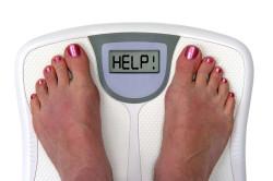 Избыточный вес - причина потливости головы
