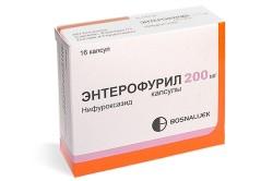 Энтерофурил при лечении ротавирусной инфекции