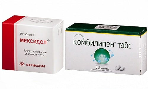 Препараты Мексидол и Комбилипен способствуют восстановлению нервной проводимости, нарушенной в результате стресса и сбоя в работе ЦНС