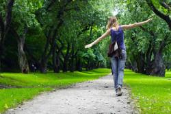 Пешие прогулки при миоме матки