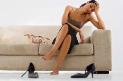 Частые стрессы - причина аднексита