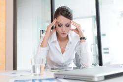 Стресс - причина гипергидроза стоп