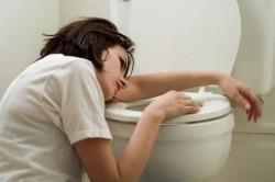 Тошнота - симптом ротавирусной инфекции