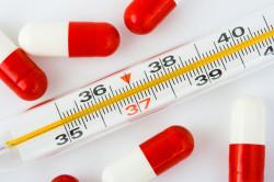 Температура - следствие вакцинации от кори