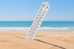 Высокая температура воздуха - причина гипергидроза