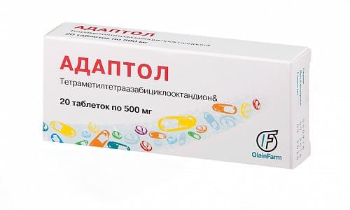 Адаптол не рекомендуется совмещать с другими успокоительными или психотропными препаратами