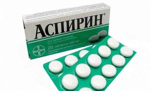 Аспирин вместе с Анальгином и Парацетамолом помогают устранить почечные колики