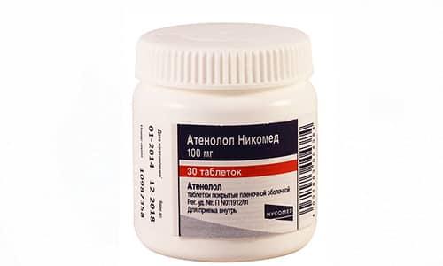 Атенолол можно использовать при расстройствах ЦНС, которые сопровождаются тахикардией, гипертонией и повышенным потоотделением