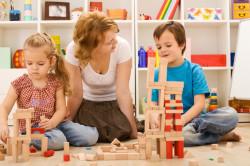 Занятия с детьми аутистами