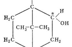 Химическая формула борнеола
