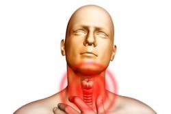 Боль в горле при простуде