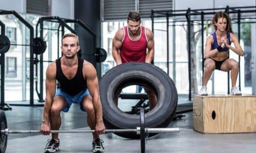 Тренировка мускула