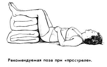Лечение: постельный режим и покой
