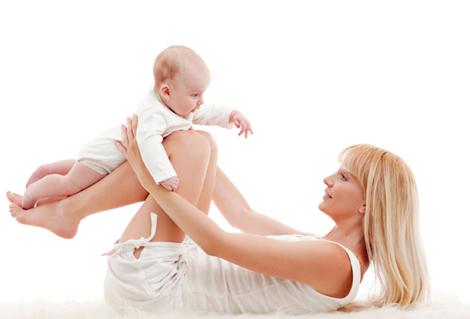 Мама и ребенок!