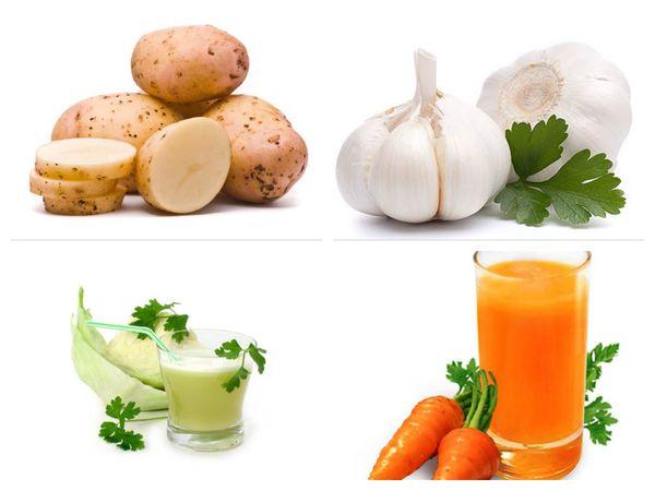 овощи для лечения стоматита