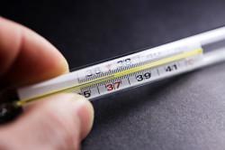 Повышение температуры при поносе
