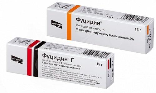 При наличии у человека различных инфекций, вызванных стафилококком или гонококком, используют препараты Фуцидин или Фуцидин Г