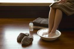 Ванночки для ног с горчицей от простуды