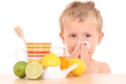 Правильное питание при гриппе у детей