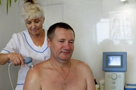 Лечение ударно-волновой терапией