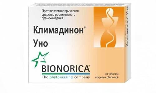 В среднем цена на Климадинон УНО составляет 320-400 руб. за упаковку