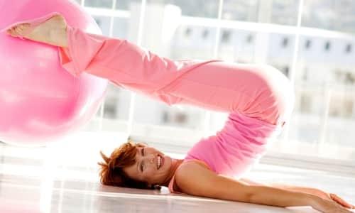 Физические упражнения для ЛФК