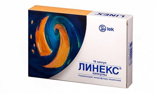 Линекс помогает улучшить расщепления микроэлементов