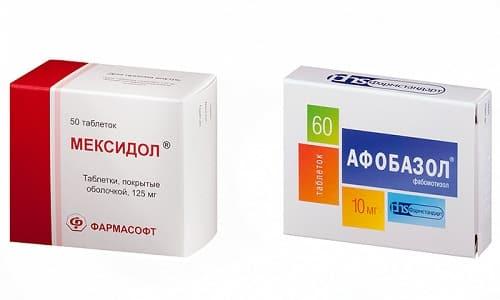 В ряде случаев Мексидол и Афобазол назначаются одновременно при комплексной терапии