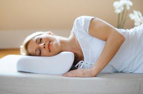 Ортопедическая подушка при искривлении позвоночника