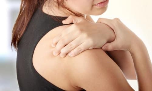 Боль плечевых суставов