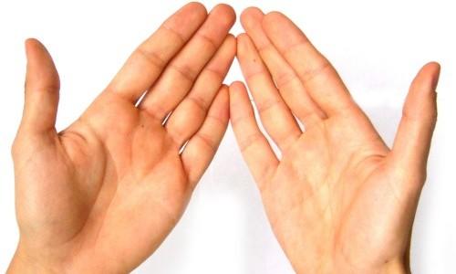 Проблема потливости рук