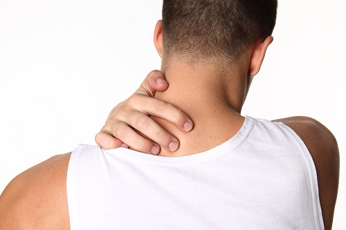 Проблема потливости шеи