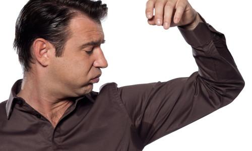 Проблема повышенной потливости у мужчин