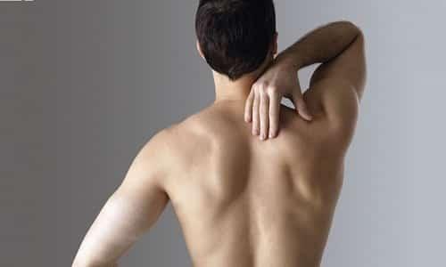 Боль в спине - симптом кисты