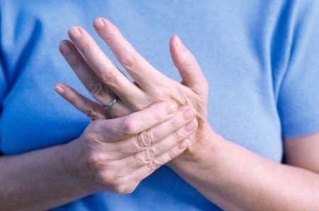 Одновременное онемение рук и ног