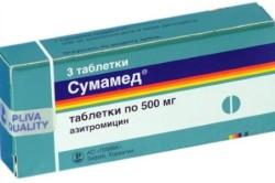 «Сумамед» для лечения катаральной ангины