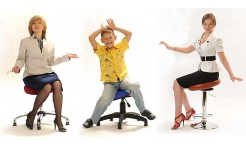 Виды ортопедических стульев фото
