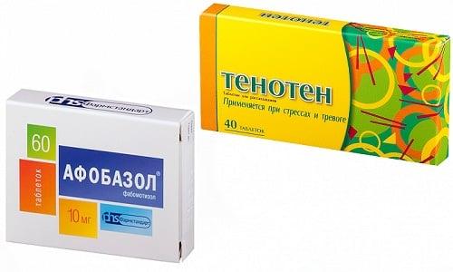При нарушениях в работе ЦНС врачи часто назначают анксиолитики: Тенотен или Афобазол
