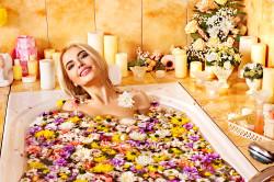 Травяные ванны - при лечении потницы