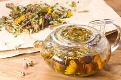 Польза травяного чая при ОРВИ у детей