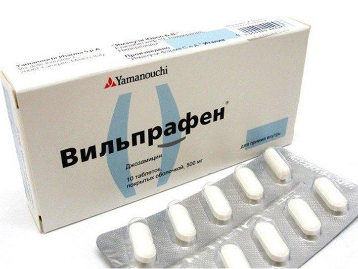 какой антибиотик нужно принимать при простатите